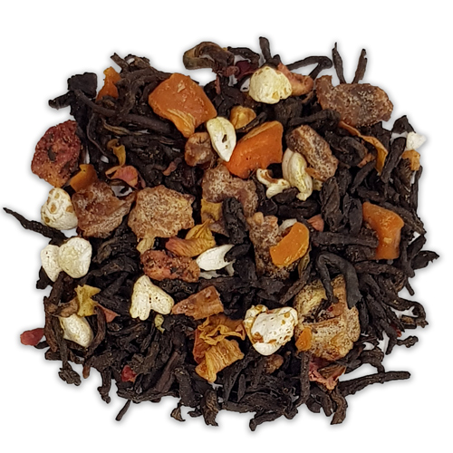 Черен чай Пу-ер с елда и нар
